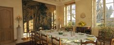 Refined dining in Domaine de la Forge.