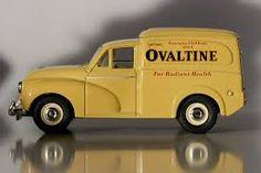 Bildergebnis für Morris Minor van Ovaltine, Morris Minor, Making Out, Diecast, Van, Yellow, Vintage, Vintage Comics, Vans