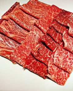 Ibaraki is blessed with long coastlines, a huge mountain range in the north, and a fertile plain stretching from the central region to the south.The cattle raised here produce some of the most tender beef in the world. From left to right: top loin, sirloin, hip, rump and fillet. . . .  #tokyo #japan #food #foodstagram #foodies #foodpics #instafood #jj #eater #followme #yummy #delicious #gourmet #amazing #gastronogram @gastronogram #eater #lefooding #yolo #igdaily #photooftheday…