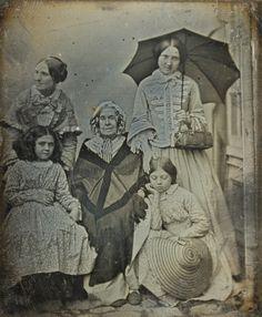 Little Penny Dreadful, eastmanmuseum:   Portrait of five women Cromer's...