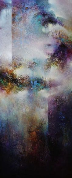 Lavender Breeze, Cody Hooper, acrylic. Click the image for buying information. #abstractart #contemporaryart