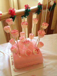 Decorated marshmallows