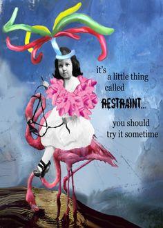 Restraint...Erin Smith interpretation. LOVE IT!