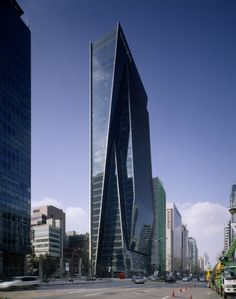 Dongbu Financial Center in Seoul by Kohn Pedersen Fox Associates