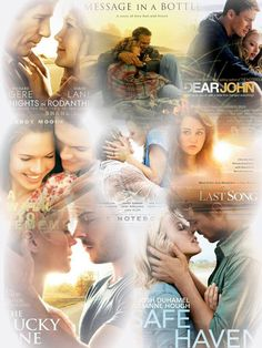 Nicholas Sparks love his movies and his books!!!