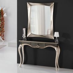 Shop our stylish range of rustic oak, contemporary glass and black and white glass console tables. Cream Bedroom Furniture, Console Furniture, Funky Furniture, Home Decor Furniture, Console Table Styling, Modern Console Tables, Living Room Decor Curtains, Rooms Home Decor, Deco Baroque