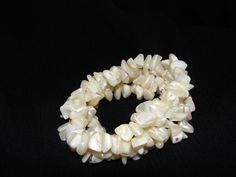 Vintage but never worn puka shell bracelet by SummersBreeze