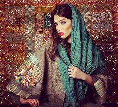 Stylish Persian Girl and Typical Features World Of Fashion, Girl Fashion, Persian Beauties, Middle Eastern Fashion, Iranian Women, Iranian Art, Persian Girls, Persian Culture, Turkish Beauty