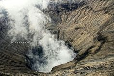 Bromo mountain. South java - Indonesian.