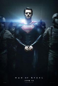 Nuevo póster de Man Of Steel (Junio, 2013), reboot de Superman dirigido por Zack Snyder y protagonizado por Henry Cavill.