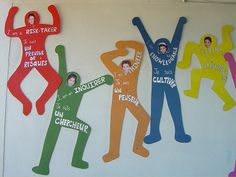 IB pyp learner profiles wall decor