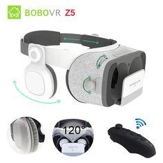 a1738de1bb5 Original BOBOVR Z5 VR 3D Stereo Glasses Google Cardboard Virtual Reality VR  Phone Headset Helmet Box