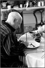 Picasso, painting Lump