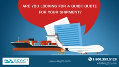 Book your shipment online for International and Domestic Shipping or get affordable quotes for your shipment.
