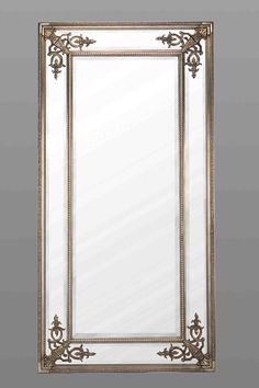 Full Length Silver French Mirror by Out There Interiors | Mirrors ...