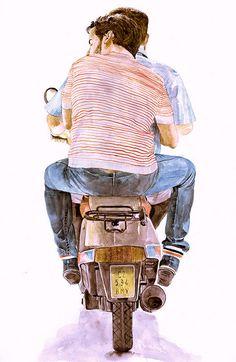 Runaway by Jose Manuel Hortelano Pi .