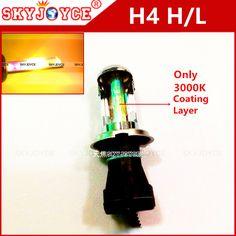 2X 35W 12V AC H4 hid xenon 4300K 6000K 8000K 3000K gold yellow Car Auto H4-3 Bi Xenon Light H4 Hi/Lo Beam HID Bulbs Bi-Xenon H4