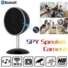 eBay  Sponsored WIFI Hidden Camera Bluetooth Speakers Music Player HoHoProv  HD 1080P Wireless BA Bluetooth 98f70b428a