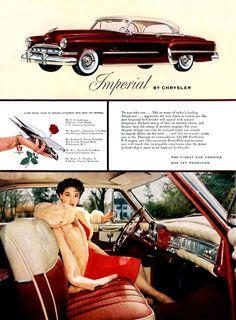 '54 Chrysler Imperial.