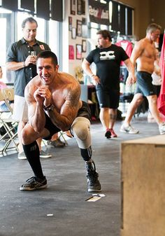No excuses.  This is inspiring   Transition Possible | CrossFit Community