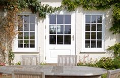 Case Study Aldeburgh - The Burgess Group - windows, doors and conservatories Georgian Doors, Window Replacement, Conservatories, Case Study, Porches, Garage Doors, Houses, Windows, Group