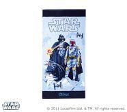 Star Wars mini beach towel courtesy of Pottery Barn Kids