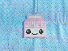 Custom Color Juice Box Sprite Necklace by DelightfulEpiphany, $6.00
