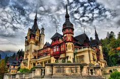 Peles Castle: the Royal Romanian dream summer house.  The castle - actually a palace consistently referred to as a castle - was the summer residence of the Romanian Royal House,the Romanian branch of the House of Hohenzollern-Sigmaringen that ruled the country between 1866 and 1947.