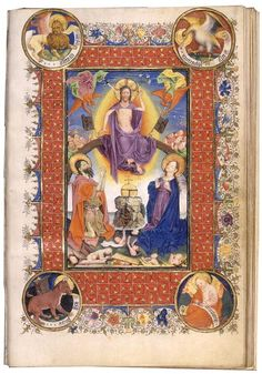 Illuminated Manuscript, The Hours of Catherine of Cleeves