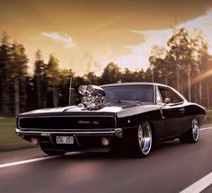 Badass '68 Dodge Charger ... just the best muscle car in my opinion!