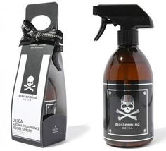 Mastermind Deica Room Spray from Japan. Scary but clever #packaging. Not sure I would buy this though. PD