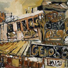 Genos Cheesesteaks, Italian Market Philadelphia