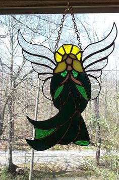 403 Best Angels In Stained Glass Images Stained Glass Angel