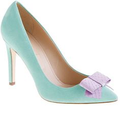 Shop the Collection Contessa snakeskin-bow pumps at J.Crew and see the entire selection of Footwear. Pointed Toe Pumps, High Heel Pumps, Pumps Heels, Peep Toe, J Crew Shoes, Snake Skin Shoes, Me Too Shoes, My Style, Collection