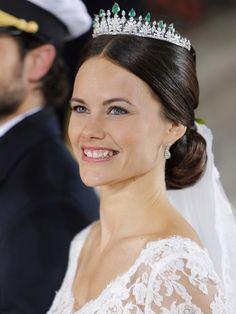 El vestido de novia de Sofia Hellqvist, realizado con seda española - Foto 2