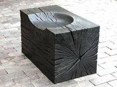 Image result for scorched wood sculpture