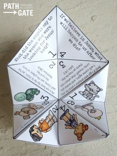 Printable Easter Finger Puzzle with Bible Verses - Perfect for Home or Classroom use