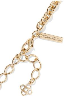 Oscar de la Renta - Gold-plated Necklace - one size