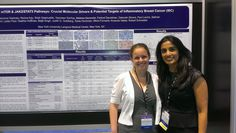 Dr. Komal Jhaveri & NYU student, sharing her IBC research at the American Society of Clinical Oncology (ASCO) Annual Meeting.