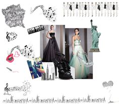 """""""Sweet 16 New York Theme"""" by rissyroos on Polyvore"""