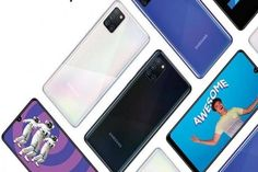 Samsung Galaxy A31 launched in India Samsung Galaxy Wallpaper Android, New Samsung Galaxy, Samsung Logo, Samsung Device, Latest Phones, New Phones, Macro Camera, Dual Sim, Videos Funny