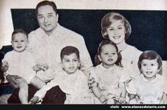 1st Miss Universe 1953, Armi Kuusela (Finnish) & Filipino Husband they got 5 Children.
