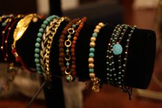 Blee Inara bracelets   I love the turquoise and the feather.  #retailtherapymi