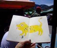 Love a nice sketchbook!/ powerpaola
