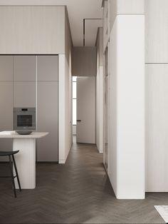 Hall #hall #modernhall #minimalistichall #minimalism #minimalisticarchitecture #minimalisticinterior #architecture #modernarchitecture #design #moderndesign #ideasforhall Modern Hall, Minimalist Interior, Modern Architecture, Tall Cabinet Storage, Minimalism, Modern Design, Room, Furniture, Home Decor