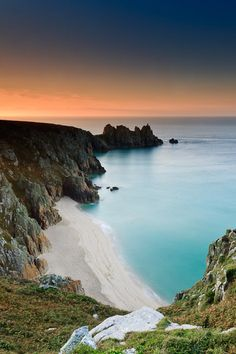 Treen cliffs Porthcurno Cornwall.