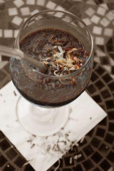 Dinners & Dreams » Iced Coconut Mocha Latte
