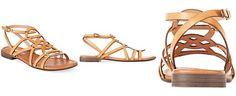 Report Gamma Flat Gladiator Sandals