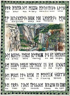 Misty Mountains in dwarf language.
