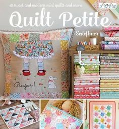 Quilt Petite: 18 Sweet and Modern Mini Quilts and More by... https://www.amazon.com/dp/6059192130/ref=cm_sw_r_pi_dp_x_trqCybH9EQ46X